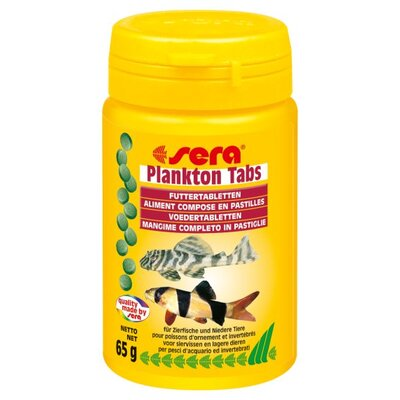 Sera USA Plankton Tabs Fish Food