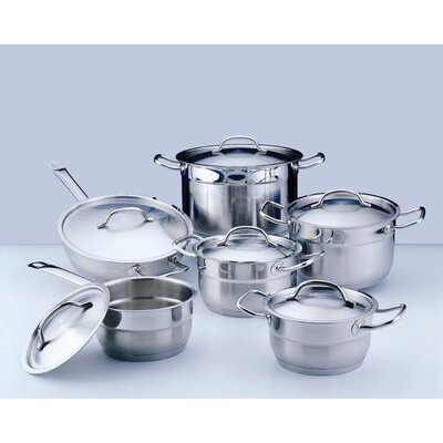 BergHOFF Hotel Line Stainless Steel 12-Piece Cookware Set