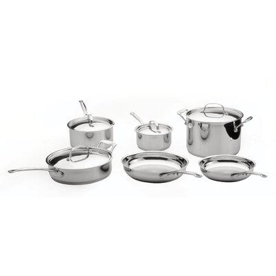 BergHOFF International Premium Copper Clad Stainless Steel 10-Piece Cookware Set