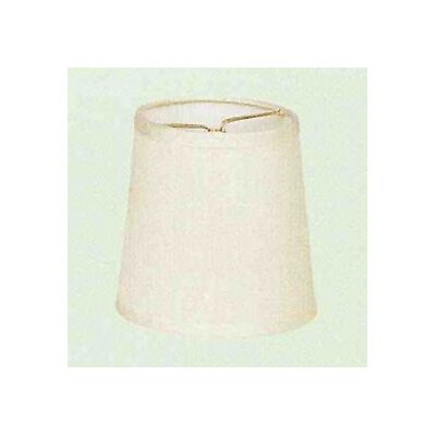 Living Well Cream Dupioni Drum Shade