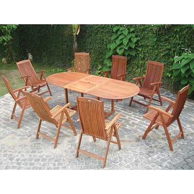Vifah Vista 9 Piece Dining Set
