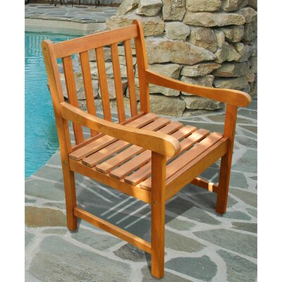 Outdoor Wood Nobi Armchair