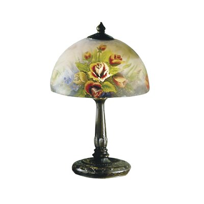 Dale Tiffany Rose Dome 2 Light Table Lamp