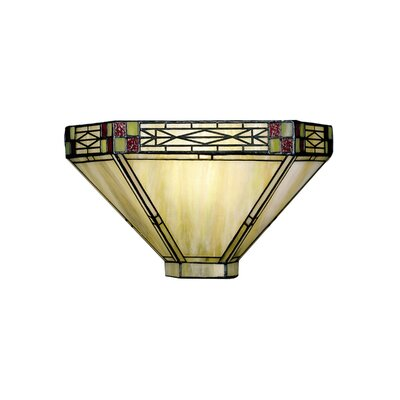 Dale Tiffany Dana Mission 1 Light Wall Sconce