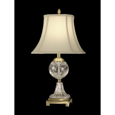 Dale Tiffany 1 Light Crystal Table Lamp