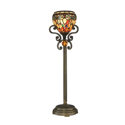 Dale Tiffany Buffet 1 Light Table Lamp