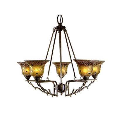 Dale Tiffany Tamar 5 Light Chandelier