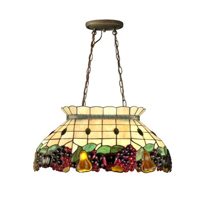 Fruit Pool Table 2 Light Pendant