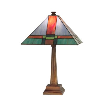 Dale Tiffany Tranquility Mission 1 Light Table Lamp