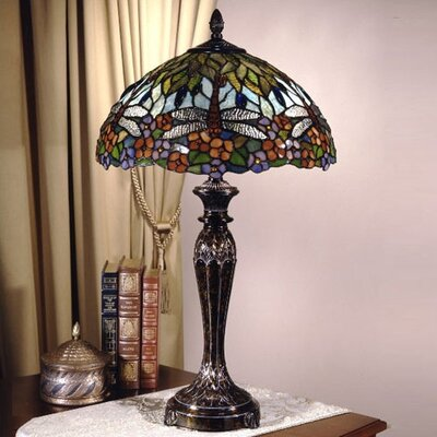 Dale Tiffany Floral  Table Lamp