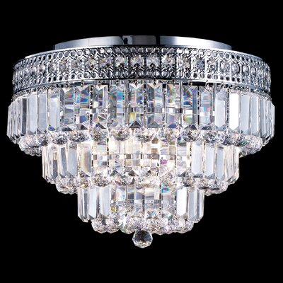 Dale Tiffany Bradford 9 Light Flush Mount