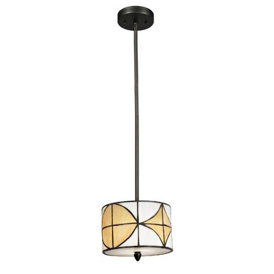 Dale Tiffany Varesa 1 Light Mini Pendant