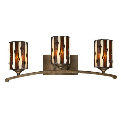 Dale Tiffany Diamond Hill 3 Light Bath Vanity Light