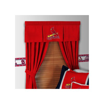 Sports Coverage Inc. MLB Rod Pocket Drape Single Panel with Tiebacks