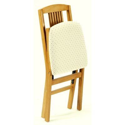 Stakmore Company, Inc. Simple Mission Wood Folding Chair Oak (Set of 2)