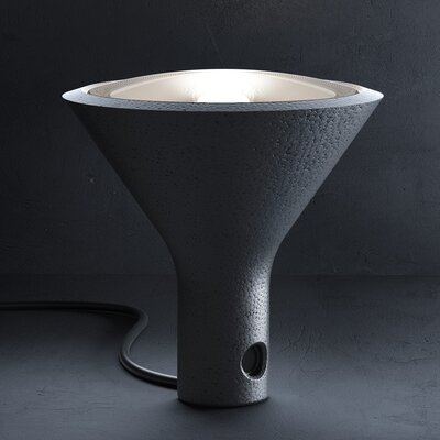 "FontanaArte Yupik 7.89"" H Table Lamp with Bowl Shade"