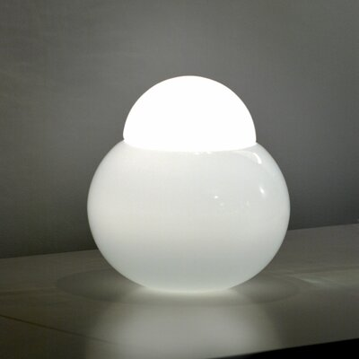 "FontanaArte Daruma 14.2"" H Table Lamp with Bowl Shade"