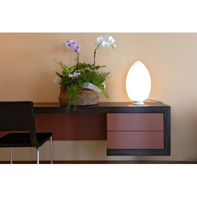 "FontanaArte Uovo 24.4"" H Table Lamp with Oval Shade"