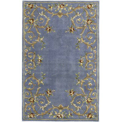 Rugs America Flora Lake Blue Rug
