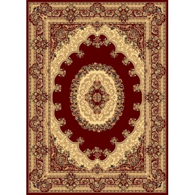 New Vision Red Kerman Rug