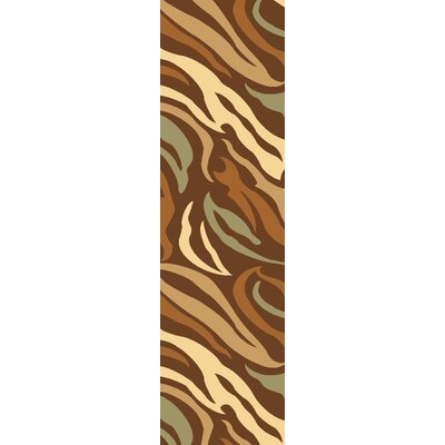 Rugs America Torino Brown Jungle Rug