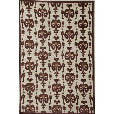 Rugs America Salerno Red Ikat Rug
