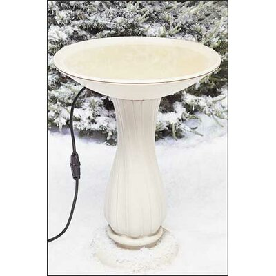 Allied Precision Industries Heated Plastic Bird Bath