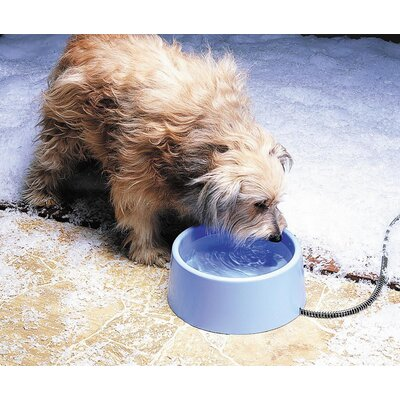 Plastic Heated Pet Bowl