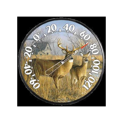 Chaney Thermometer Deer