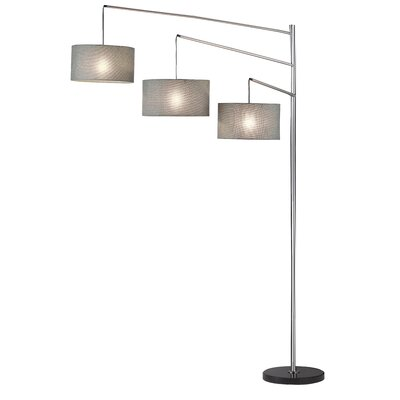 Adesso Wellington Arc Floor Lamp