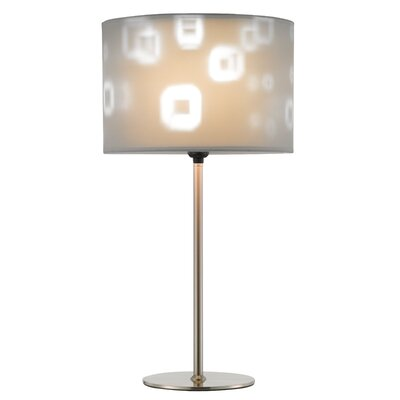"""Adesso Mystic 22"""" H Table Lamp with Drum Shade"""