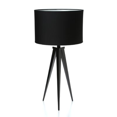 "Adesso Director 28"" H Table Lamp with Drum Shade"