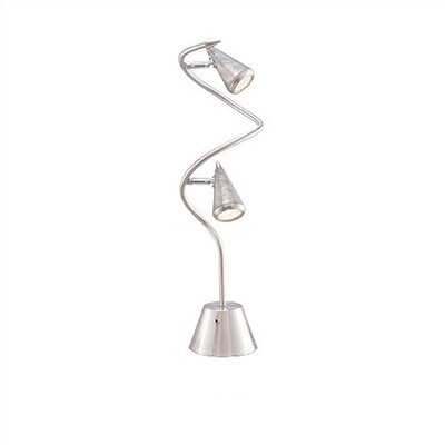 """Adesso Venus Spiral 24"""" H Table Lamp with Empire Shade"""