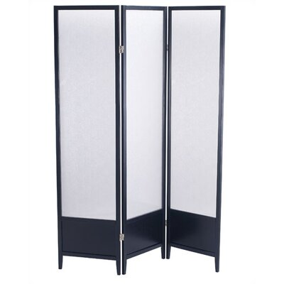 "Adesso 70"" x 53"" Toronto Folding 3 Panel Room Divider"