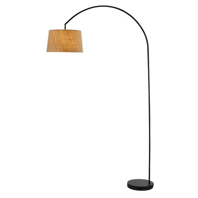 Adesso Goliath 1 Light Arched Floor Lamp