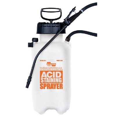 Chapin Acid Staining Sprayers - acid staining sprayer