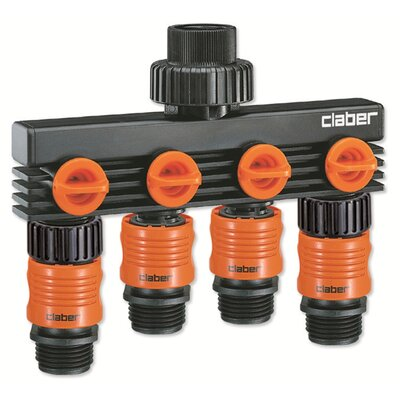 Claber 4-Way Water Distributor