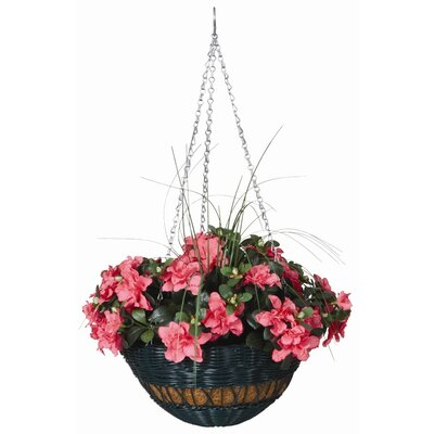 Resin Wicker Hanging Basket