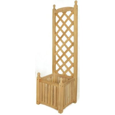 Lexington Square Trellis Planter