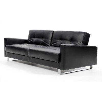LifeStyle Solutions Marquee Euro Palacio Convertible Sofa