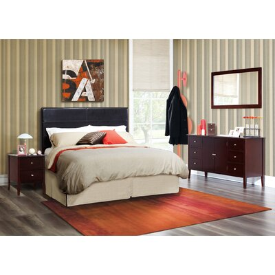 LifeStyle Solutions Zurich 4 Piece Bedroom Collection