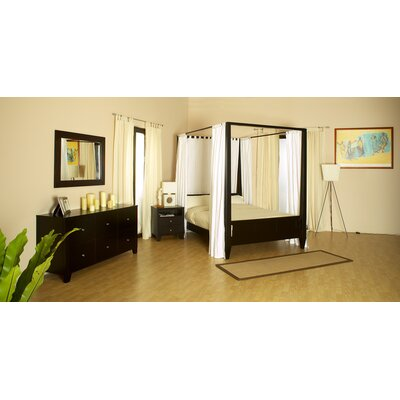 LifeStyle Solutions Wilshire 4 Piece Bedroom Set