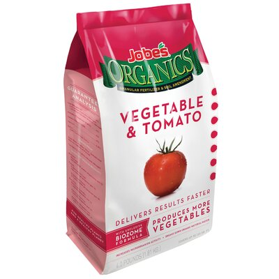 Easy Gardener Jobes Organic Vege and Tomato in White