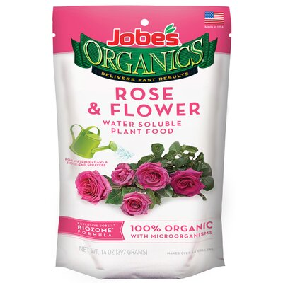 Easy Gardener Rose and Flower Water Soluble Plant Food (Set of 5)