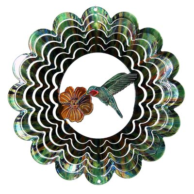 Next Innovations Eycatcher Kaleidoscope Hummingbird Wind Spinner