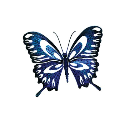 Next Innovations Refraxions Butterfly 3D Wall Art