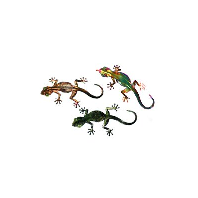Next Innovations Refraxions Gecko 3D Wall Art (Set of 3)