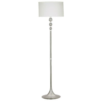 Kenroy Home Luella Floor Lamp with Acrylic Accents