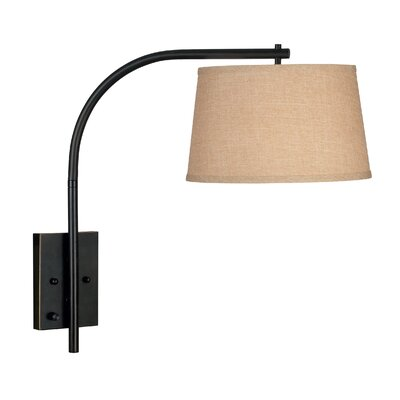 Kenroy Home Sweep Swing Arm Wall Lamp