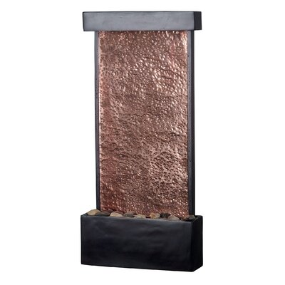 Kenroy Home Copper Falling Water Table-Wall Fountain
